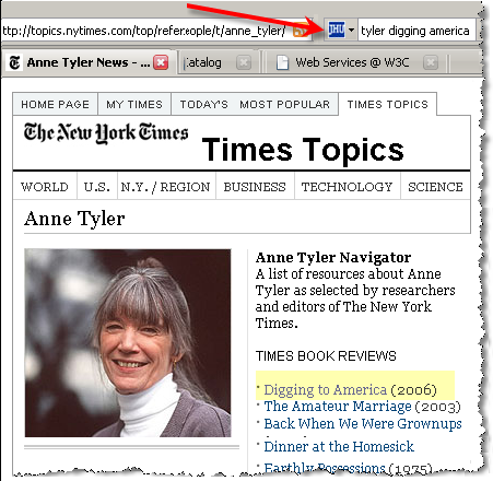 NYTimes Anne Tyler