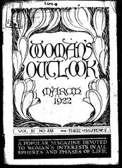 Women's Outlook 1922