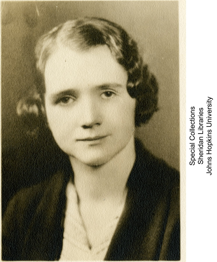 Rachel Carson / Ferdinand Hamburger Archives, Johns Hopkins University