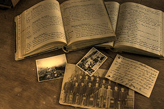 Photo of old documents