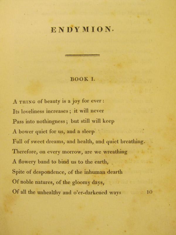 endymion poem