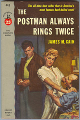 The Postman Always Rings Twice book cover