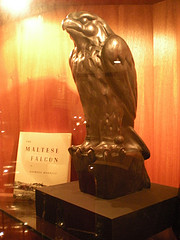 The maltese falcon statute used in film