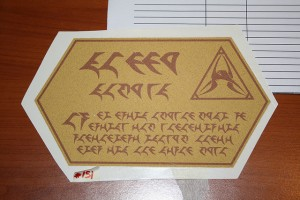 Klingon. Attribution-NonCommercial-NoDerivs 2.0 Generic (CC BY-NC-ND 2.0) https://www.flickr.com/photos/airforceone/3434565251/in/photolist-6ev3Ag-63j4wg-7dWmj3-8kBK18-y2pu2w-y2psVo-cL5YNu-4YJXjq-4PL2bQ-8zPn5g-8z4T3D-6gBZfQ-54Esiw-buN2wq-ngK4g-8kBzQ4-fbwnKn-4tULr3-6JzEER-dEq9xh-2UXrec-8kEMFE-58XTGW-8kByY8-8kBCWT-4EQvR-7dUQFS-8kBxrP-8kBwye-9MtxE1-748EZA-fvNC6i-33vYdv-33Aw37-9D6KzP-9vw5Lu-4CLqjz-34THfm-8kBFN6-2Zq3Co-8kERQy-53GGXj-5Rz4uc-99yuZe-8kETAf-39jdCx-6rStud-8kBDTz-BTDEU-58s8HX