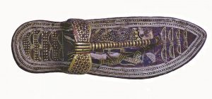 king tutankhamun tomb sandal