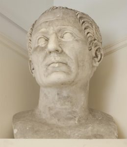 Colossal bust of Julius Caesar, Shared Shelf Commons: Cornell. Cast Collection