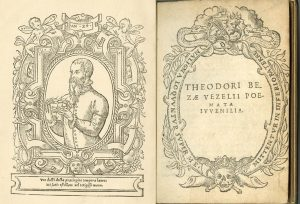 Theodore Beza, Poemata Iuvenalia, ca. 1549. The George Peabody Library, The Sheridan Libraries, Johns Hopkins University